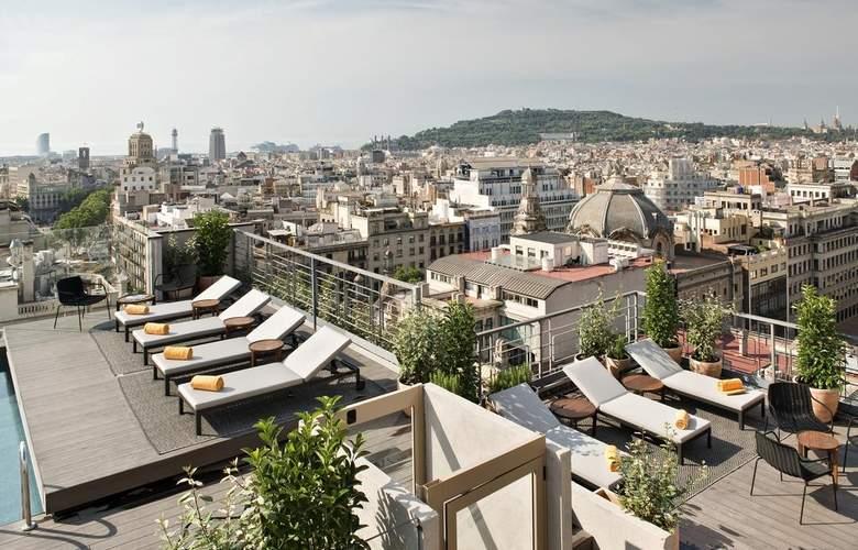 NH Collection Barcelona Gran Hotel Calderón - Terrace - 20