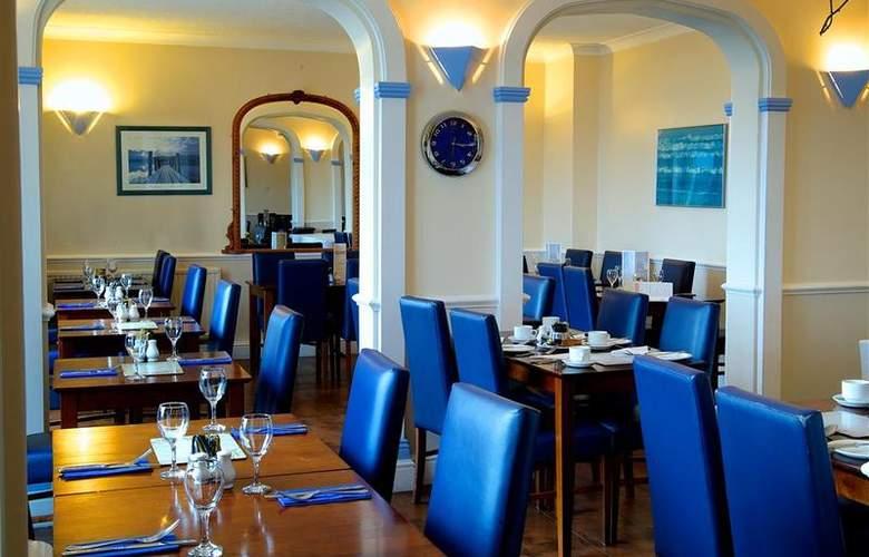 Best Western Princes Marine - Restaurant - 87