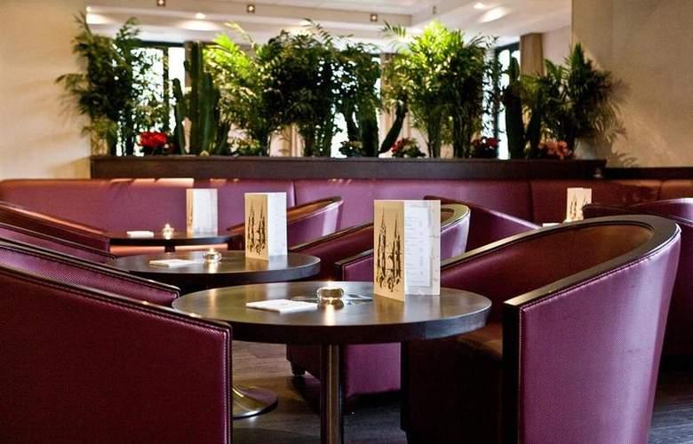 Best Western Hotel Des Francs - Restaurant - 24
