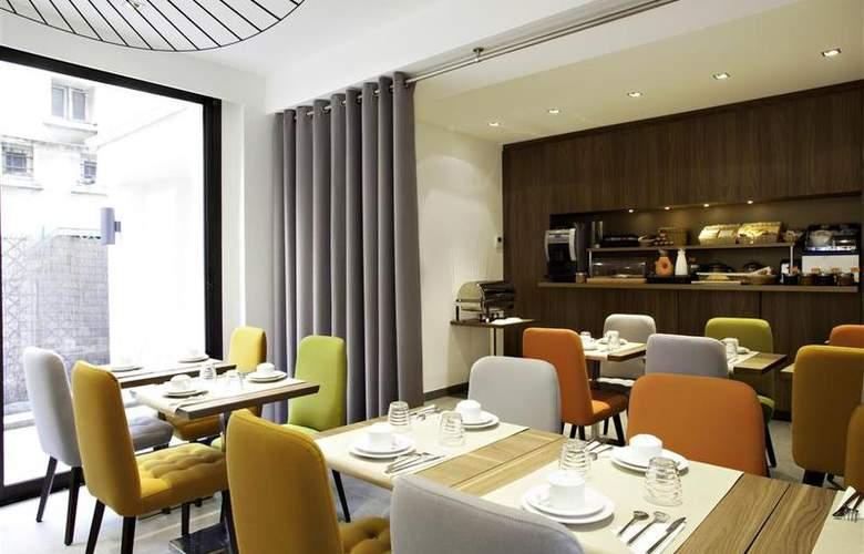 Best Western Plus 61 Paris Nation - Restaurant - 25