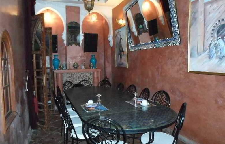 Riad Assalam - Restaurant - 8