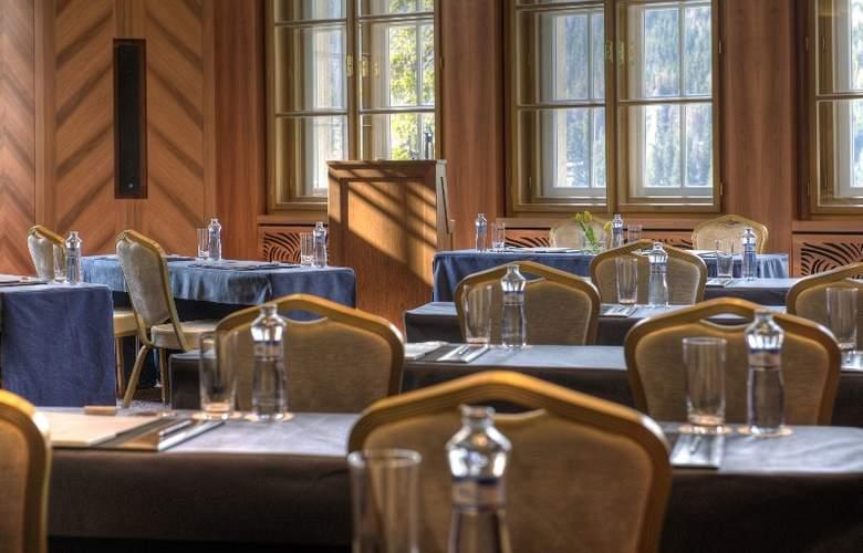Grand Hotel Kempinski High Tatras - Conference - 6