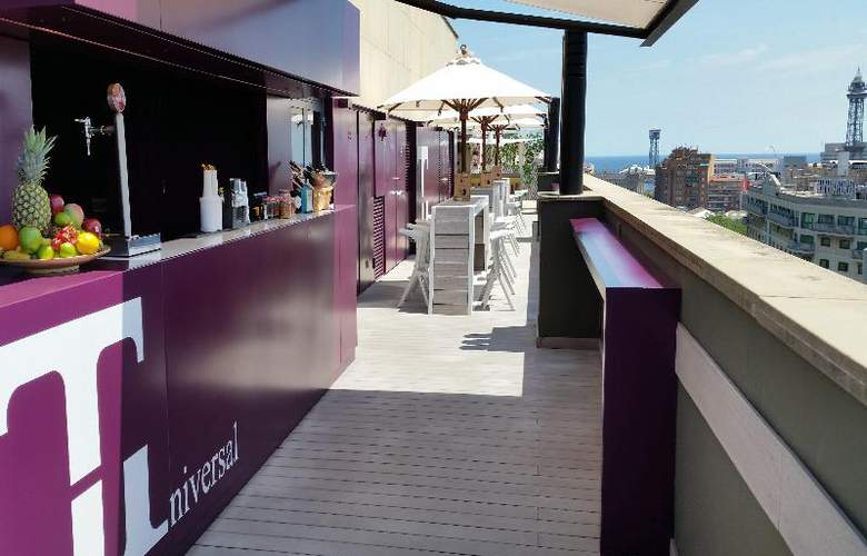 Barcelona Universal - Terrace - 96