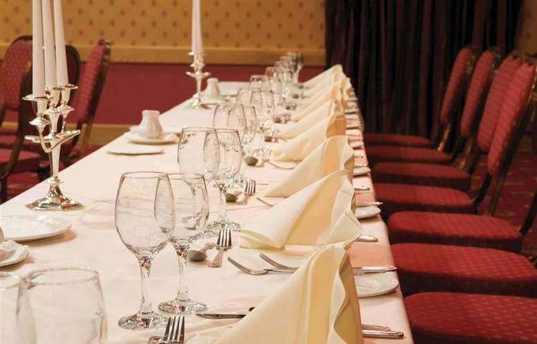 Best Western Glendower - Restaurant - 140