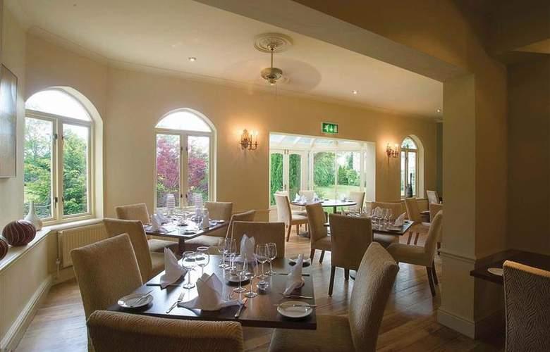 Hallmark Llyndir Hall, Chester South - Restaurant - 25