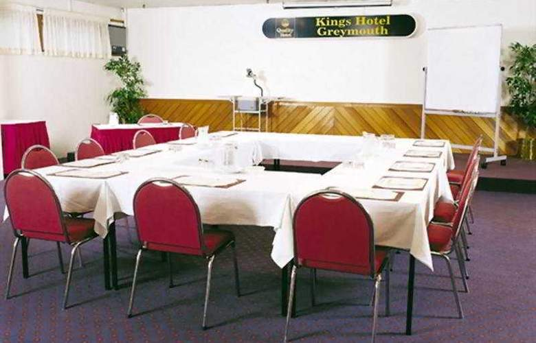 Kingsgate Hotel Greymouth - Conference - 4