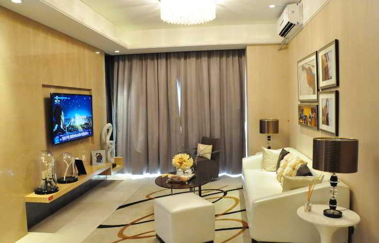 Baihe International Apartment Kecun Hopson Square - Bar - 3