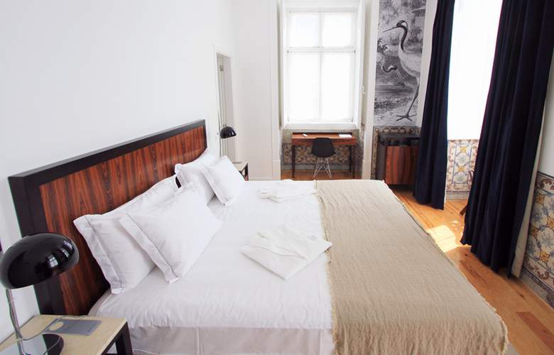 Lisboa Prata Boutique Hotel - Room - 12