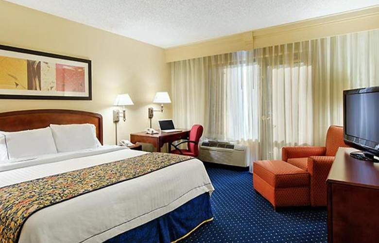 Courtyard by Marriott Chattanooga Downtown - Room - 8