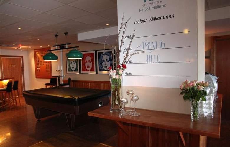 BEST WESTERN Hotel Halland - Bar - 17