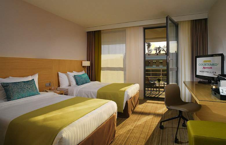 Courtyard By Marriot Montpellier - Room - 8