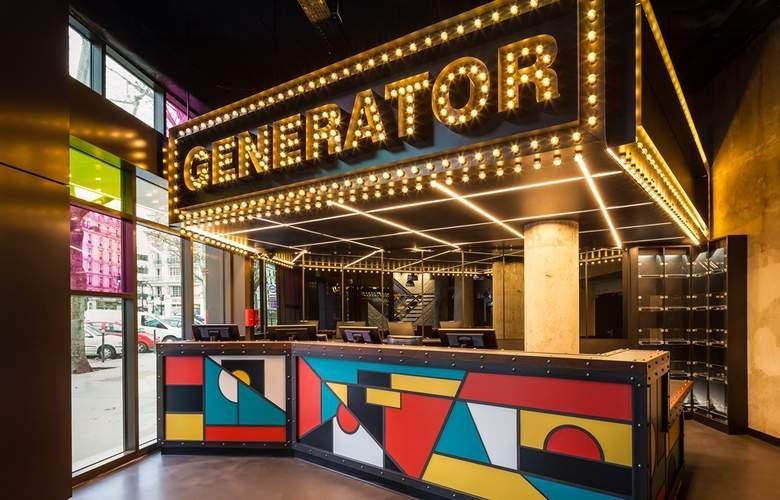 Generator Hostels Paris - General - 1