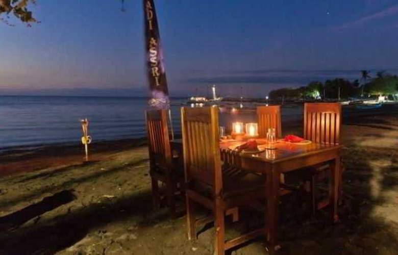 Adi Assri Beach Cottages Singaraja - Restaurant - 26