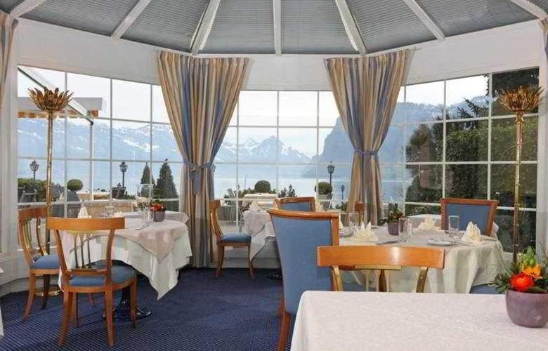 Kastanienbaum Swiss Quality Seehotel - Restaurant - 9