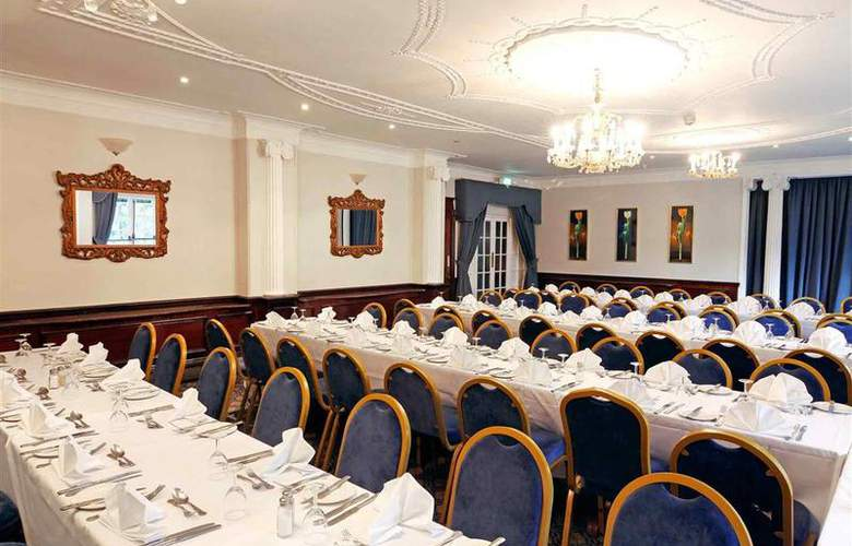 Mercure Wolverhampton Goldthorn Hotel - Hotel - 36