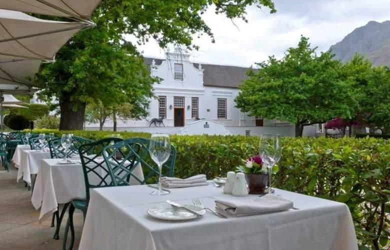 Lanzerac Hotel & Spa - Terrace - 29