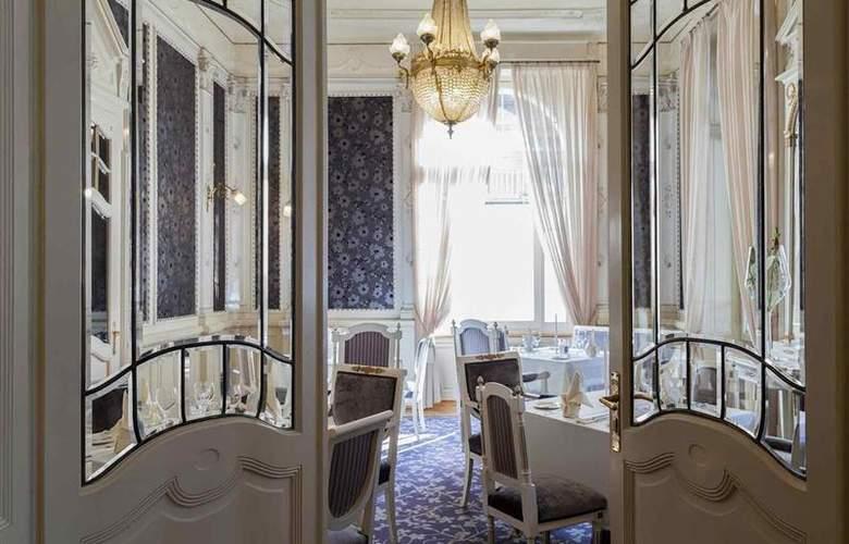 Royal St Georges Interlaken - MGallery by Sofitel - Restaurant - 111