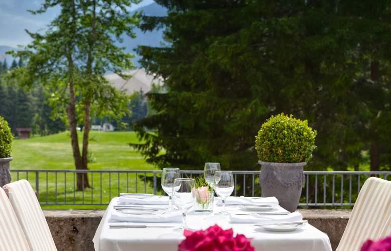 Kongress Hotel Davos - Terrace - 4