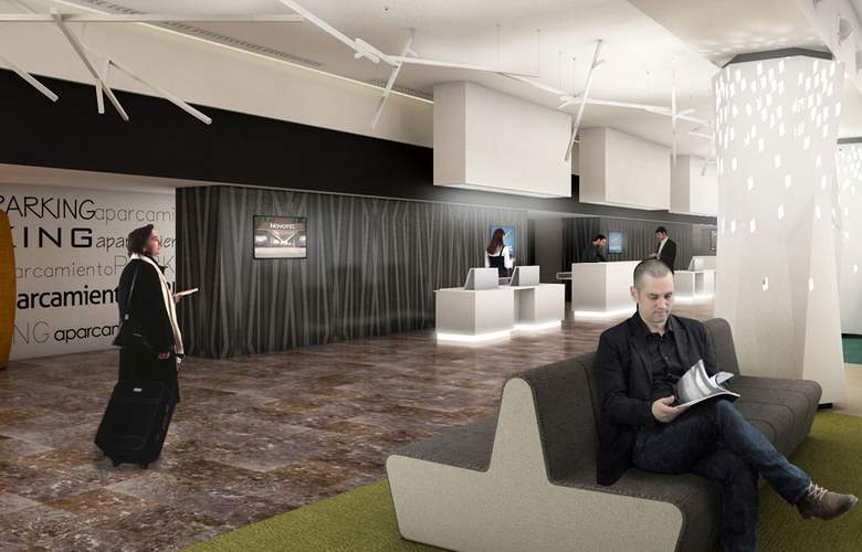 Hotel novotel madrid center desde 72 madrid for Oficinas ing en madrid