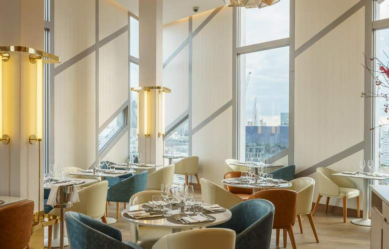 M by Montcalm Shoreditch Londres City Tech - Restaurant - 4