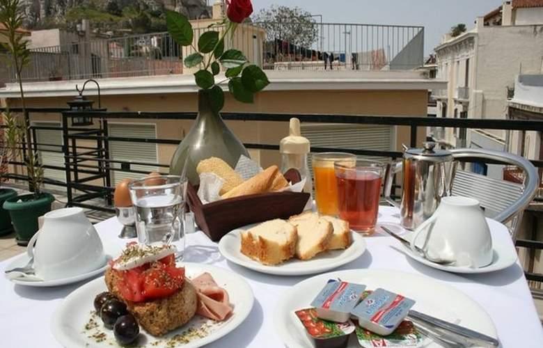 Kimon Athens Hotel - Terrace - 1