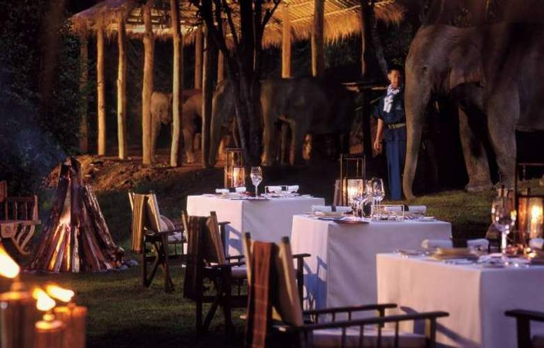 Four Seasons Tented Camp Golden Triangle - Restaurant - 9