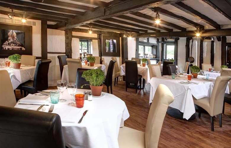 Best Western Donnington Manor - Restaurant - 40
