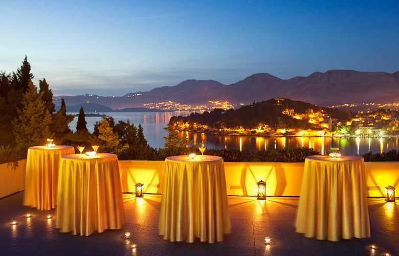 Croatia Hotel Cavtat - Terrace - 10