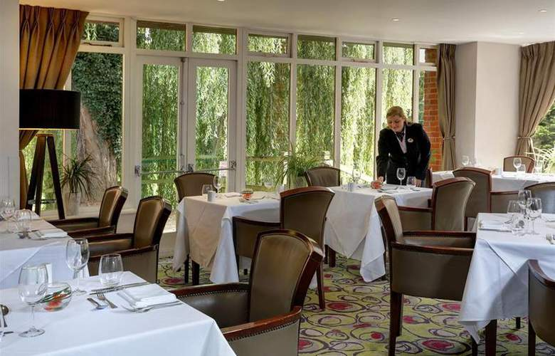 Best Western Reading Moat House - Restaurant - 55