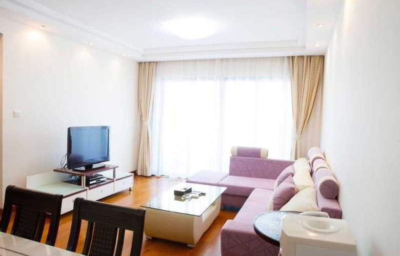 Yopark Serviced Apartment Yanlord Riviera Garden - Room - 10