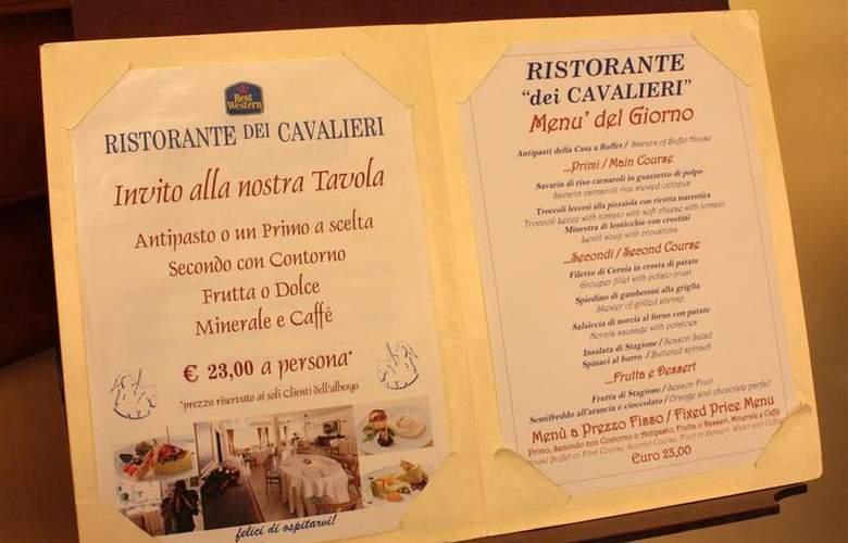 Best Western Hotel Dei Cavalieri - Restaurant - 23