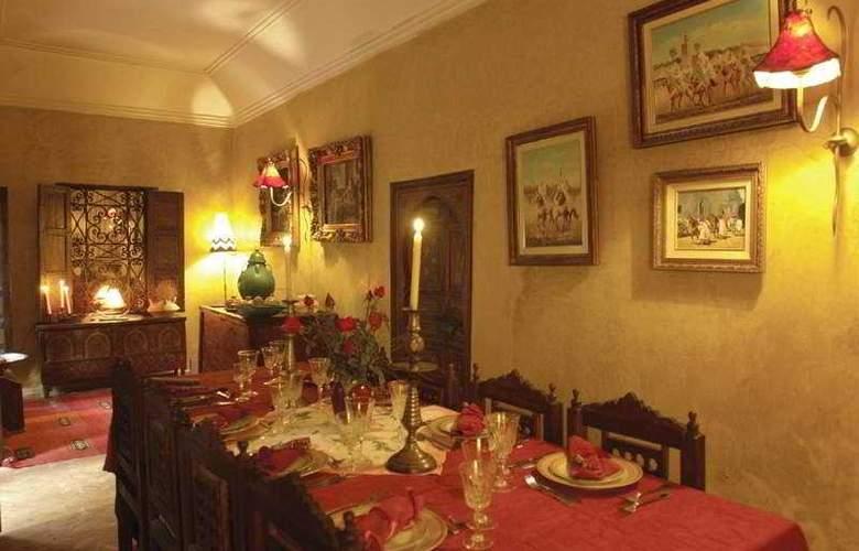 Riad Dama - Restaurant - 8