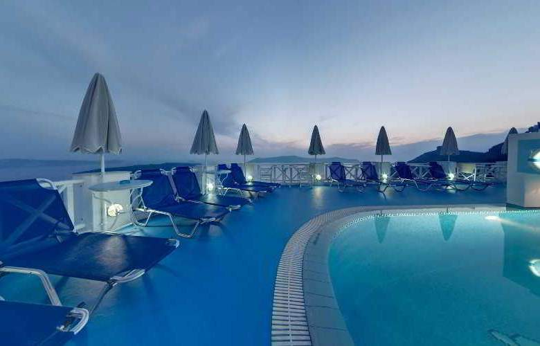Kafieris Blue Apartments - Pool - 7