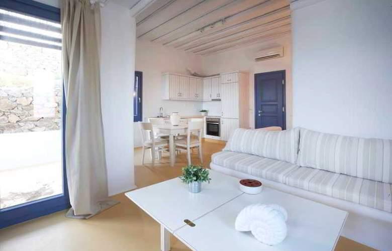 Mykonos Panormos Villas - Room - 9