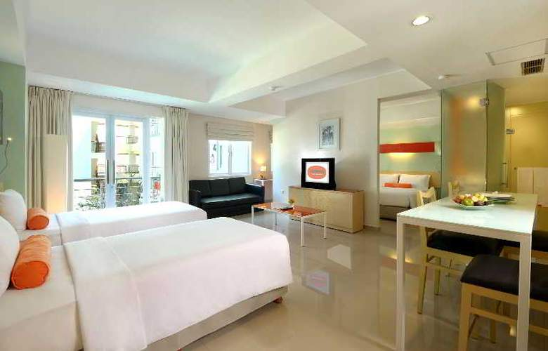 Harris Hotel & Residences Riverview Kuta - Room - 12