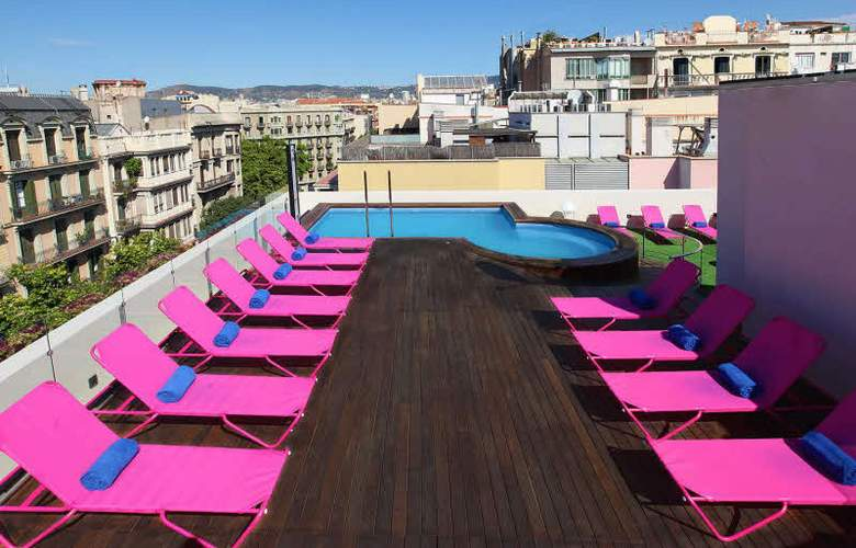 Two Hotel Barcelona By Axel - Pool - 15