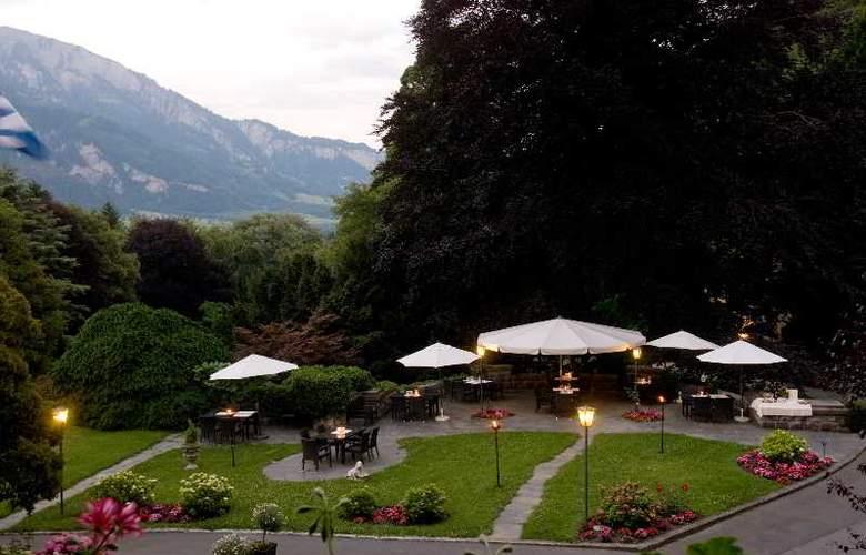 Schloss Ragaz - Terrace - 2