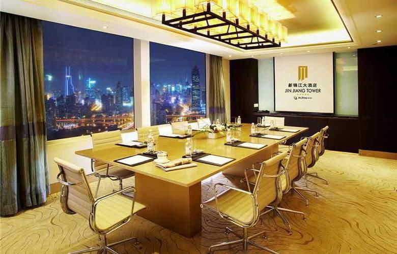 Jin Jiang Tower - Terrace - 13
