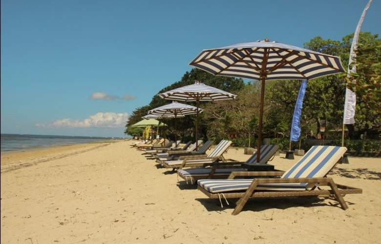 The Oasis Lagoon Sanur - Beach - 11