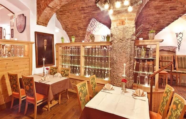 Best Western Hotel Goldener Adler - Restaurant - 68