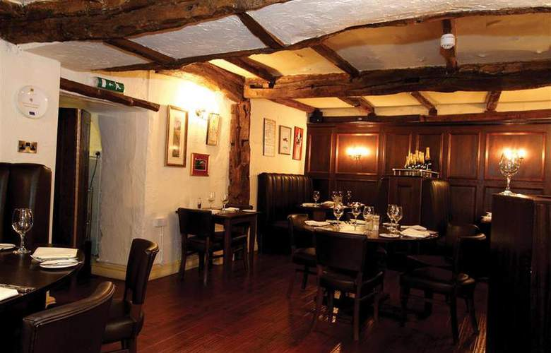 Best Western Hardwick Hall - Restaurant - 32