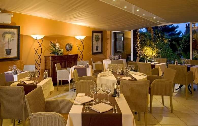Best Western Hotel Montfleuri - Restaurant - 99