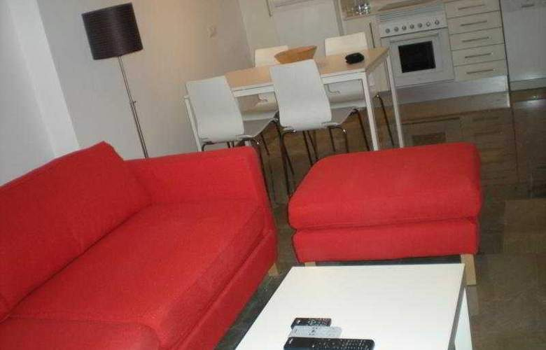 Living Valencia Apartments - Edificio Vitoria - Room - 4