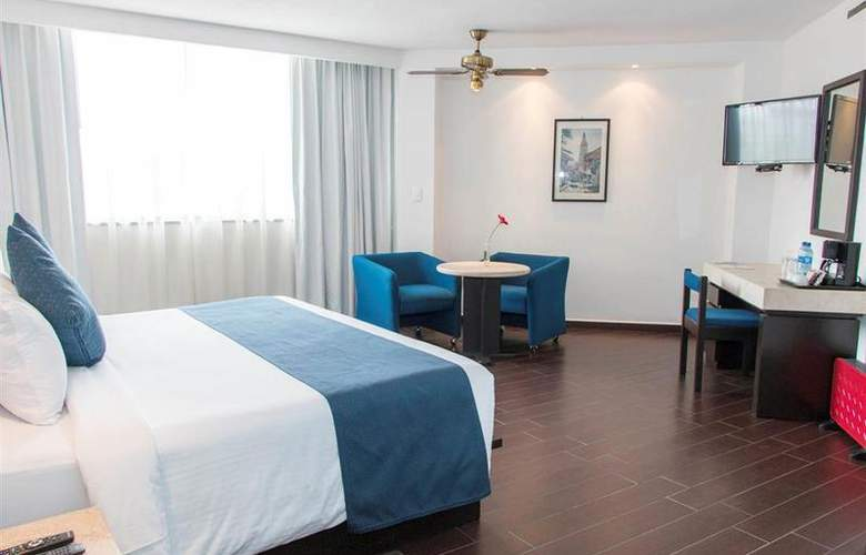 Best Western Real de Puebla - Room - 32