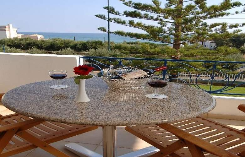 Creta Solaris Hotel Apartments - Terrace - 9