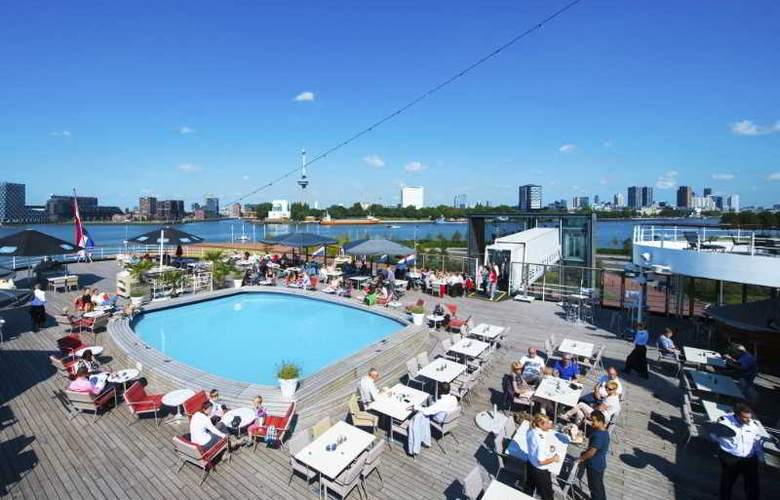SS Rotterdam by Westcord Hotels - Terrace - 5
