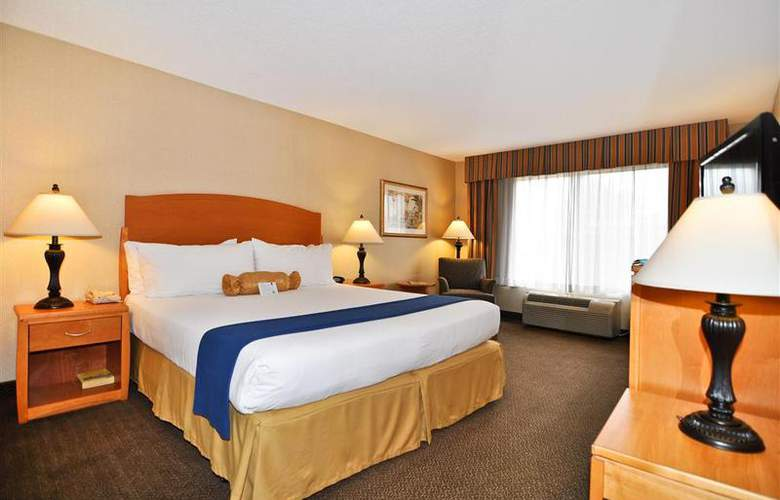 Best Western Plus Anaheim Orange County - Room - 46