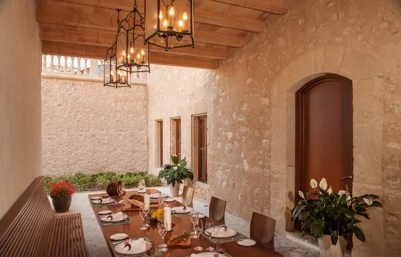 Castell Son Claret - Restaurant - 3