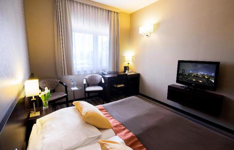 Park Hotel Diament Wroclaw - Room - 12