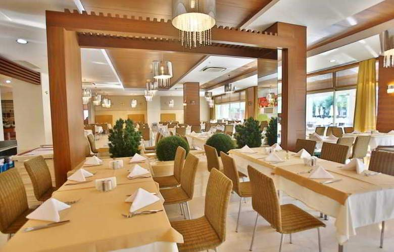 Evren Beach Resort - Restaurant - 8